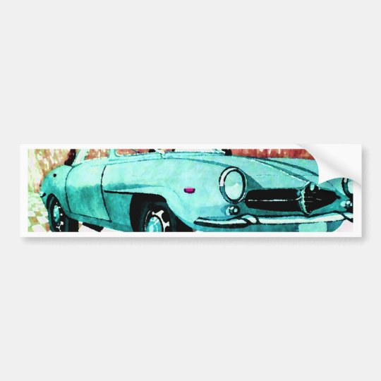 Wild Car - Alfa CricketDiane Art & Design Bumper Sticker