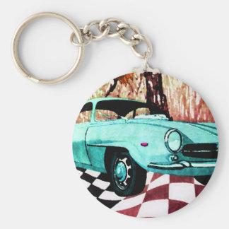 Wild Car - Alfa CricketDiane Art & Design Keychain