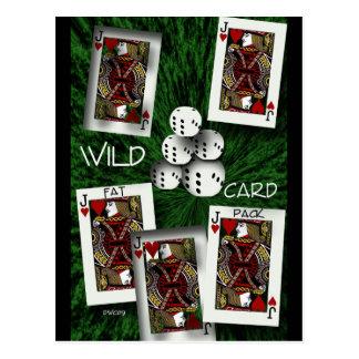 Wild Card Postcard