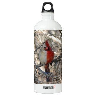 Wild Cardinal Bird Half Male, Half Female SIGG Traveler 1.0L Water Bottle