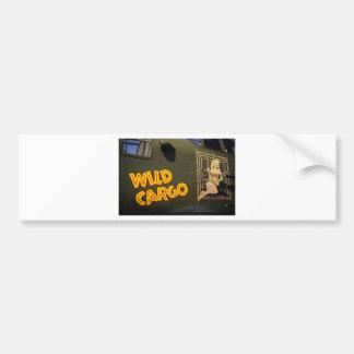 'Wild Cargo' Nose Art Bumper Stickers