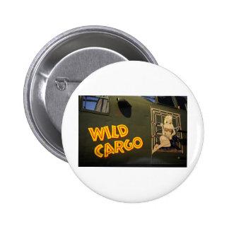 'Wild Cargo' Nose Art Button