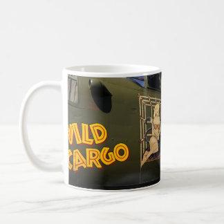 'Wild Cargo' Nose Art Coffee Mug