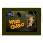 'Wild Cargo' Nose Art Greeting Card