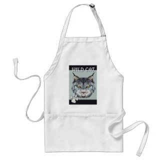 Wild Cat Adult Apron