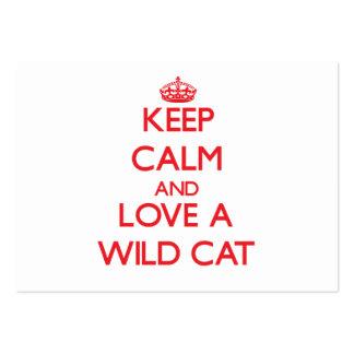 Wild Cat Business Card
