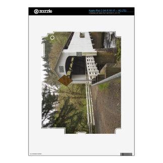 Wild Cat covered bridge, Lane County, Oregon 2 iPad 3 Skins