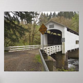 Wild Cat covered bridge, Lane County, Oregon 2 Poster