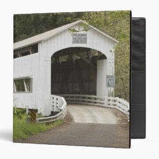 Wild Cat covered bridge, Lane County, Oregon Binder