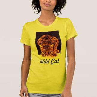 WILD CAT KITTEN T-SHIRT