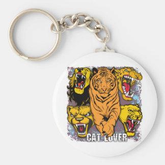 Wild Cat Lover Key Chain