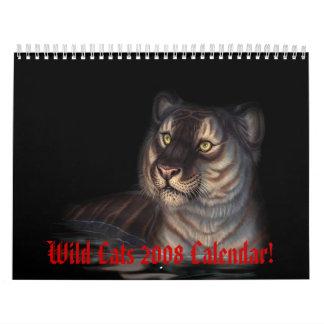 Wild Cats 2008 Calendar!