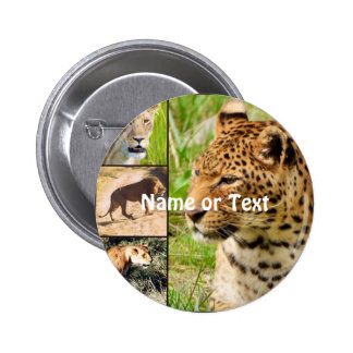 wild cats button