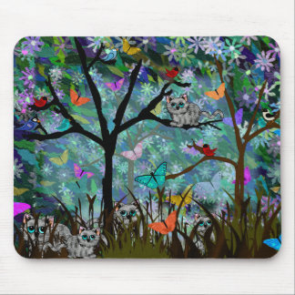 Wild Cats Mouse Pad