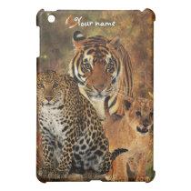 Wild Cats Named iPad Mini Cover