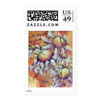 Wild Chamomile Postage Stamp
