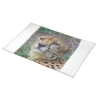 Wild Cheetah Placemat Cloth Place Mat