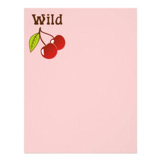 Wild Cherries Letterhead
