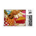 """Wild Cherry Pie"" Stamps"