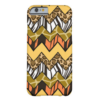 Wild Chevron Barely There iPhone 6 Case