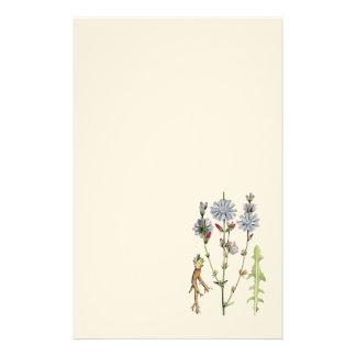 Wild Chicory Stationery