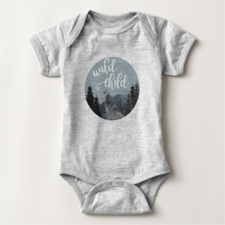 Wild Child Baby Onsie Baby Bodysuit