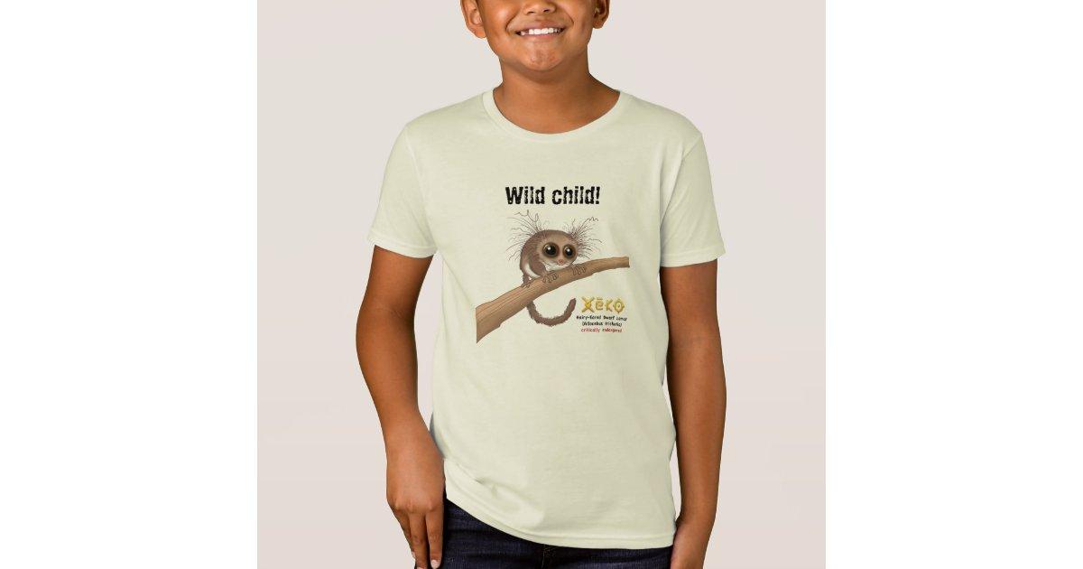 wild child hairy eared dwarf lemur t shirt zazzle list of primates