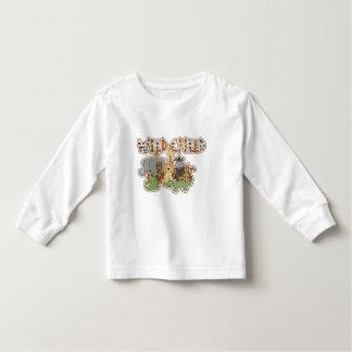 Wild Child Jungle Toddler Long Sleeve T-Shirt