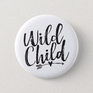 Wild Child Pinback Button