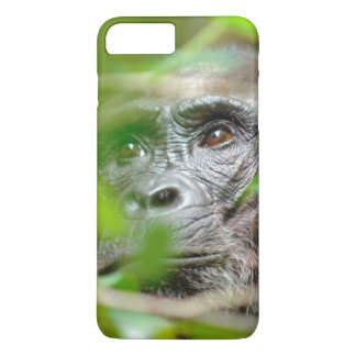 Wild Chimpanzee (Pan Troglodytes) Looking iPhone 8 Plus/7 Plus Case