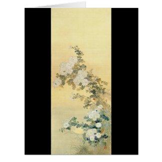 Wild Chrysanthemums 1870 Card