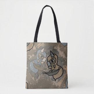 Wild Clowns Tote Bag