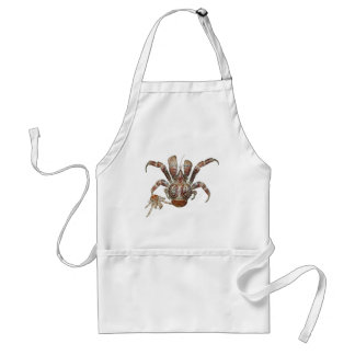 Wild Coconut Crab from Carribean Adult Apron