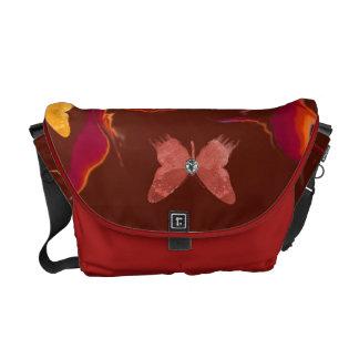 Wild Colors & Butterflies Messenger Bag