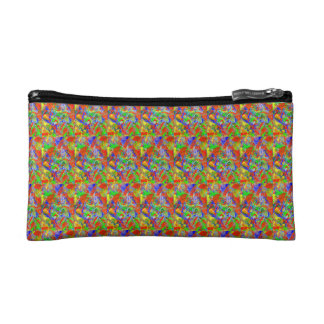 Wild colors cosmetic bag