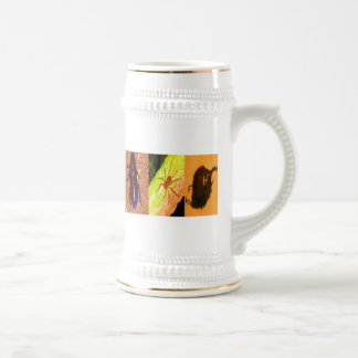 Wild Costarica - Spiders, Cockroaches and Insects 18 Oz Beer Stein