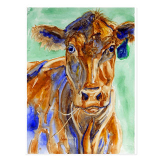 Wild Cow! Postcard