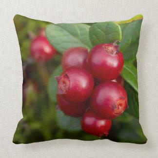 Wild Cowberry Throw Pillow
