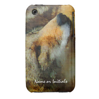 Wild Coyote - Painted Effect Close Up Photo iPhone 3 Case-Mate Case