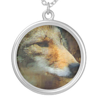 Wild Coyote Photo Painting Custom Jewelry