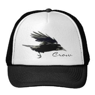 Wild CROW Birdlover Hats