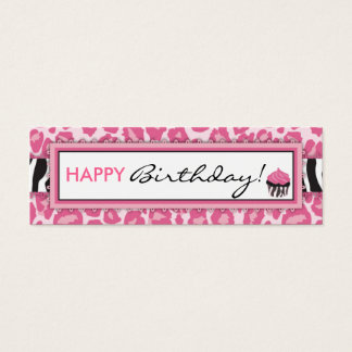 Wild Cupcake CP Skinny Gift Tag
