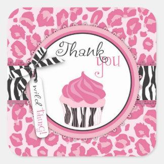 Wild Cupcake CP TY Sticker 2