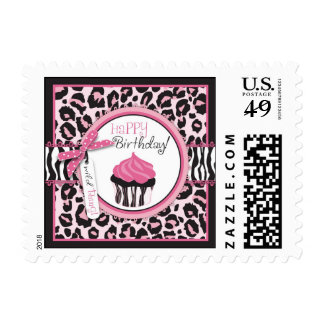 Wild Cupcake Stamp