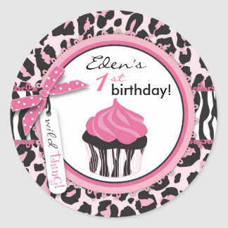 Wild Cupcake WP Sticker