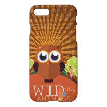 Wild Cute Animals - Owl iPhone 8/7 Case