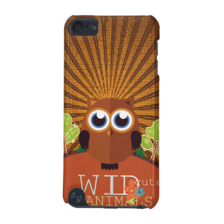 Wild Cute Animals - Owl iPod Touch (5th Generation) Case