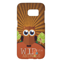 Wild Cute Animals - Owl Samsung Galaxy S7 Case