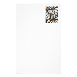 """""""Wild Daisies"""" Floral Stationery"""