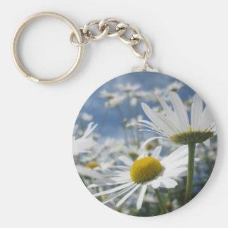 Wild Daisies Keychain